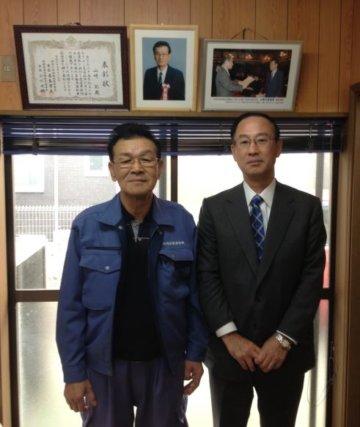 山﨑水道建設株式会社 代表取締役 山﨑 彰様の画像